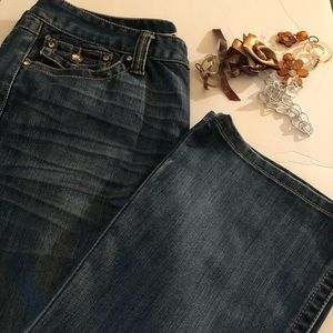 INC Denim Jeans Embellished Size 12